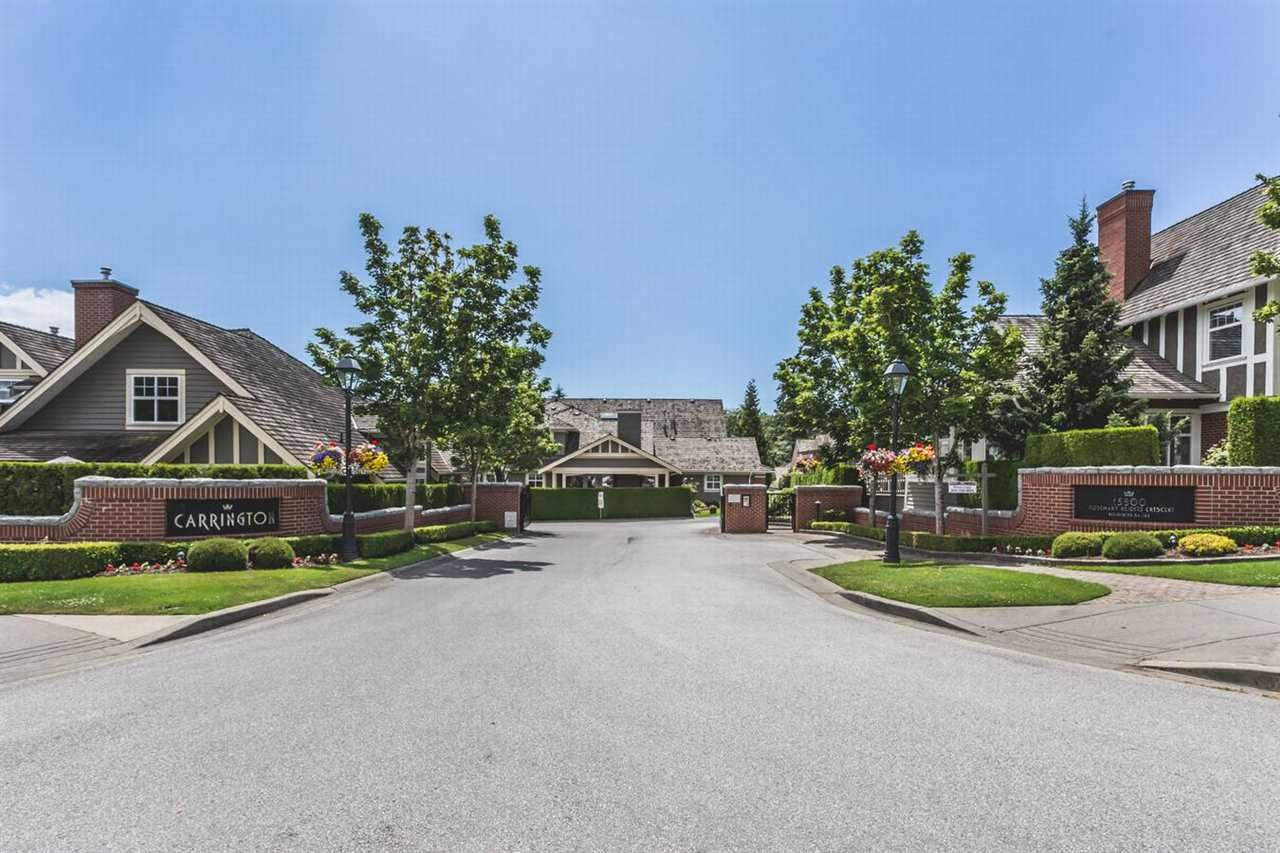 """Main Photo: 57 15500 ROSEMARY HEIGHTS Crescent in Surrey: Morgan Creek Townhouse for sale in """"Carrington"""" (South Surrey White Rock)  : MLS®# R2094723"""