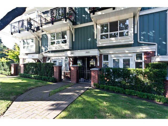 Main Photo: 3683 W 12TH AV in VANCOUVER: Kitsilano Townhouse for sale (Vancouver West)  : MLS®# R2026228