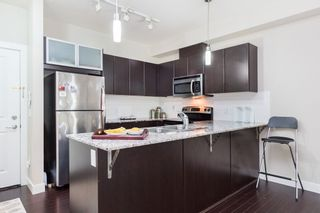 """Photo 5: 105 9655 KING GEORGE Boulevard in Surrey: Whalley Condo for sale in """"The Gruv"""" (North Surrey)  : MLS®# R2086741"""