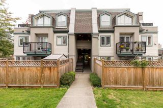 "Photo 1: 120 217 BEGIN Street in Coquitlam: Maillardville Townhouse for sale in ""PLACE FOUNTAINBLEAU"" : MLS®# R2511340"