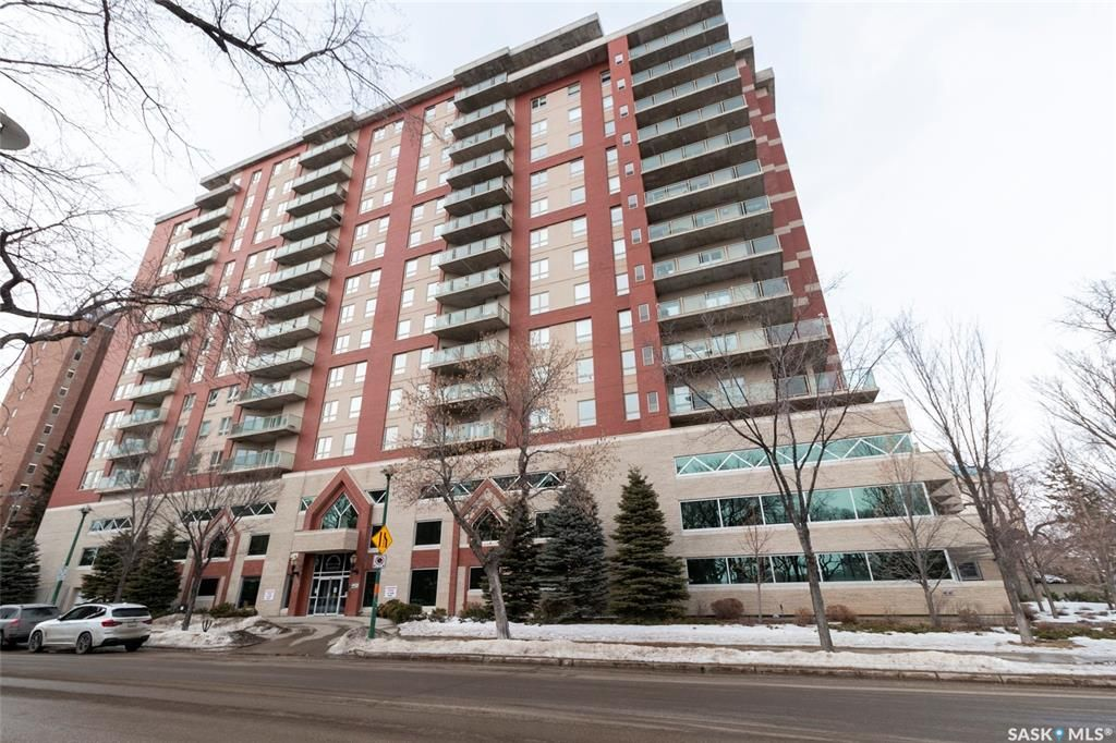 Main Photo: 508 902 Spadina Crescent East in Saskatoon: Central Business District Residential for sale : MLS®# SK845141