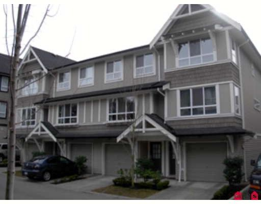 """Main Photo: 10 6747 203RD Street in Langley: Willoughby Heights Townhouse for sale in """"SAGEBROOK"""" : MLS®# F2903189"""