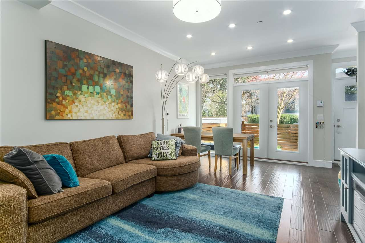 Photo 4: Photos: 3495 INVERNESS STREET in Vancouver: Knight Townhouse for sale (Vancouver East)  : MLS®# R2446835
