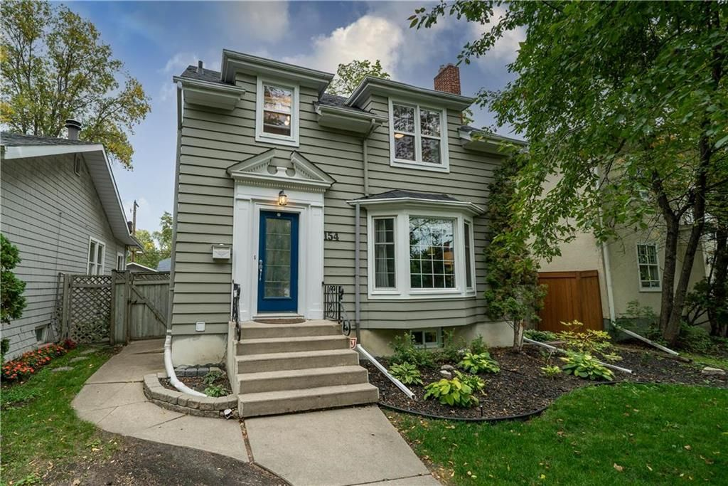 Main Photo: 154 CAMPBELL Street in Winnipeg: River Heights North Residential for sale (1C)  : MLS®# 202122848