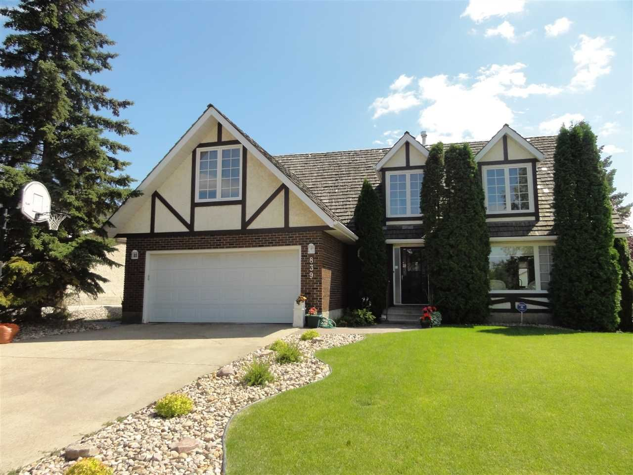 Main Photo: 839 WANYANDI Road in Edmonton: Zone 22 House for sale : MLS®# E4240208