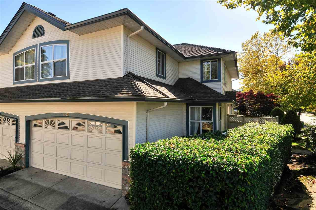 """Main Photo: 22 7330 122 Street in Surrey: West Newton Townhouse for sale in """"Strawberry Hills Estates"""" : MLS®# R2115848"""