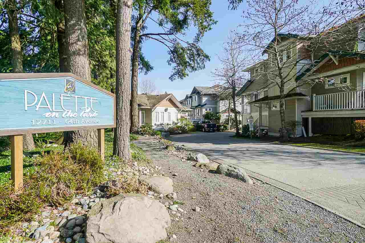 """Main Photo: 49 12711 64 Avenue in Surrey: West Newton Townhouse for sale in """"PALETTE ON THE PARK"""" : MLS®# R2560008"""