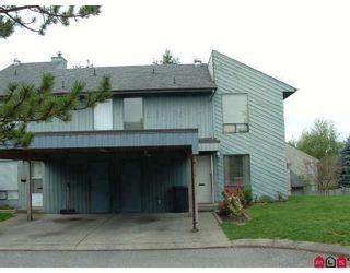 """Photo 1: 240 32550 MACLURE Road in Abbotsford: Abbotsford West Townhouse for sale in """"Clearbrook Village"""" : MLS®# F2813325"""