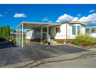 """Photo 1: 157 27111 0 Avenue in Langley: Aldergrove Langley Manufactured Home for sale in """"Pioneer Park"""" : MLS®# R2616701"""