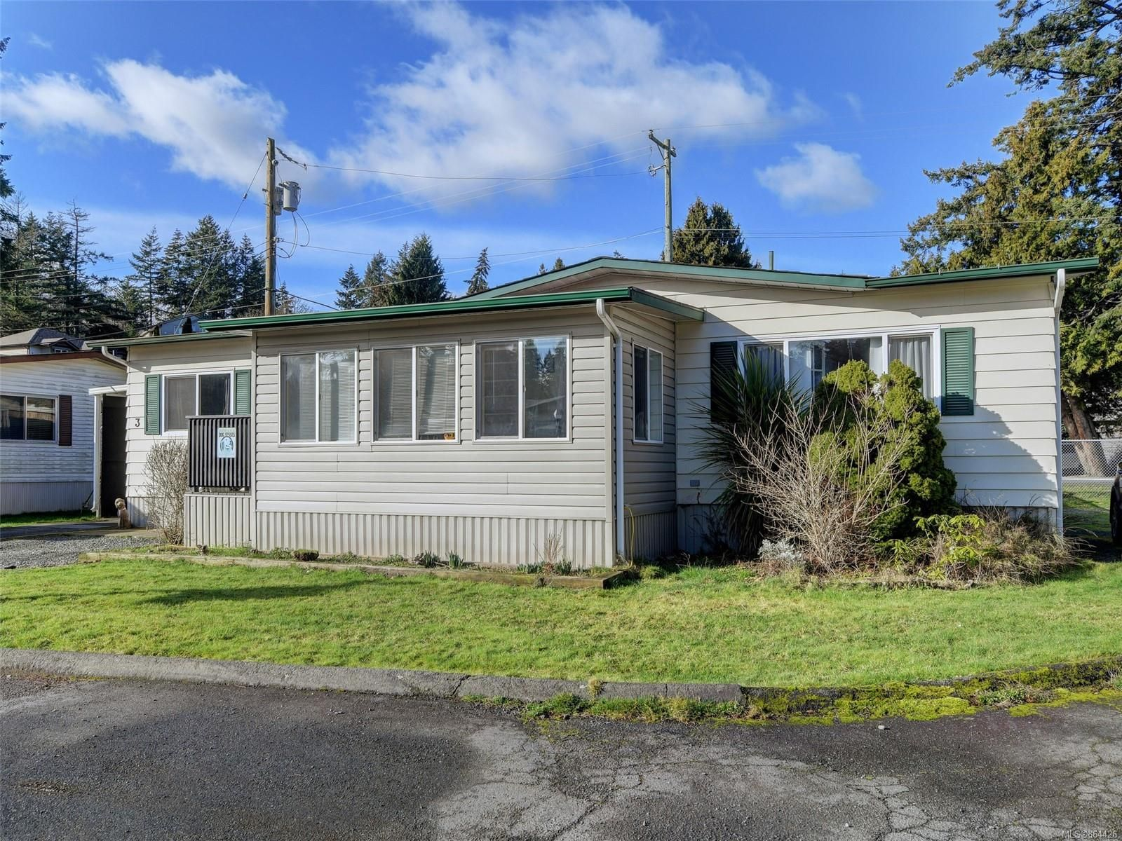 Main Photo: 3 2607 Selwyn Rd in : La Mill Hill Manufactured Home for sale (Langford)  : MLS®# 864426