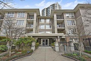 Photo 1: 407 3575 EUCLID AVENUE in Vancouver: Collingwood VE Condo for sale (Vancouver East)  : MLS®# R2408894
