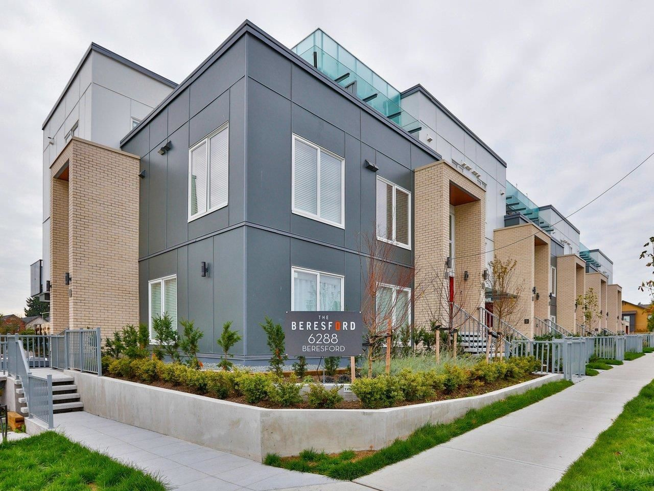 Main Photo: 6 6288 BERESFORD Street in Burnaby: Metrotown Townhouse for sale (Burnaby South)  : MLS®# R2625639
