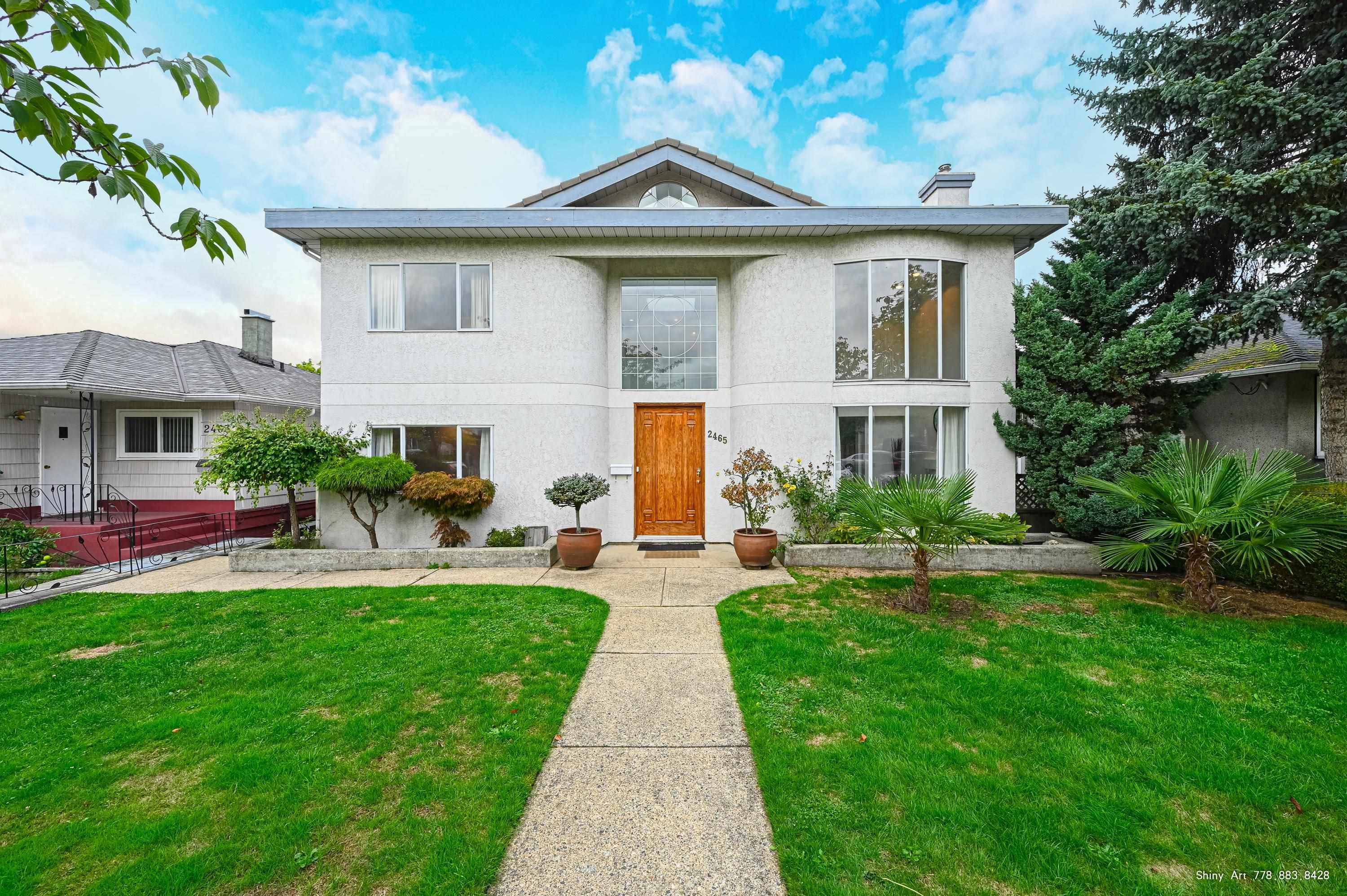 Main Photo: 2465 E 22ND Avenue in Vancouver: Renfrew Heights House for sale (Vancouver East)  : MLS®# R2619969