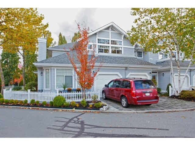 "Main Photo: 2 5708 208TH Street in Langley: Langley City Townhouse for sale in ""BRIDAL RUN"" : MLS®# F1431828"