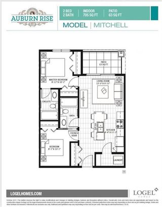 Photo 19: 311 100 Auburn Meadows Common SE in Calgary: Auburn Bay Apartment for sale : MLS®# A1093683