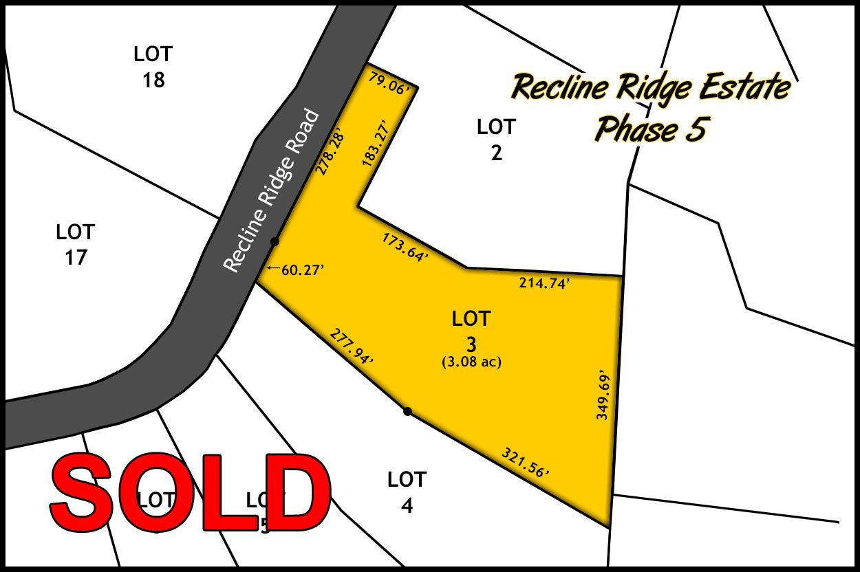 Recline Ridge Estates - Phase V - Lot 3