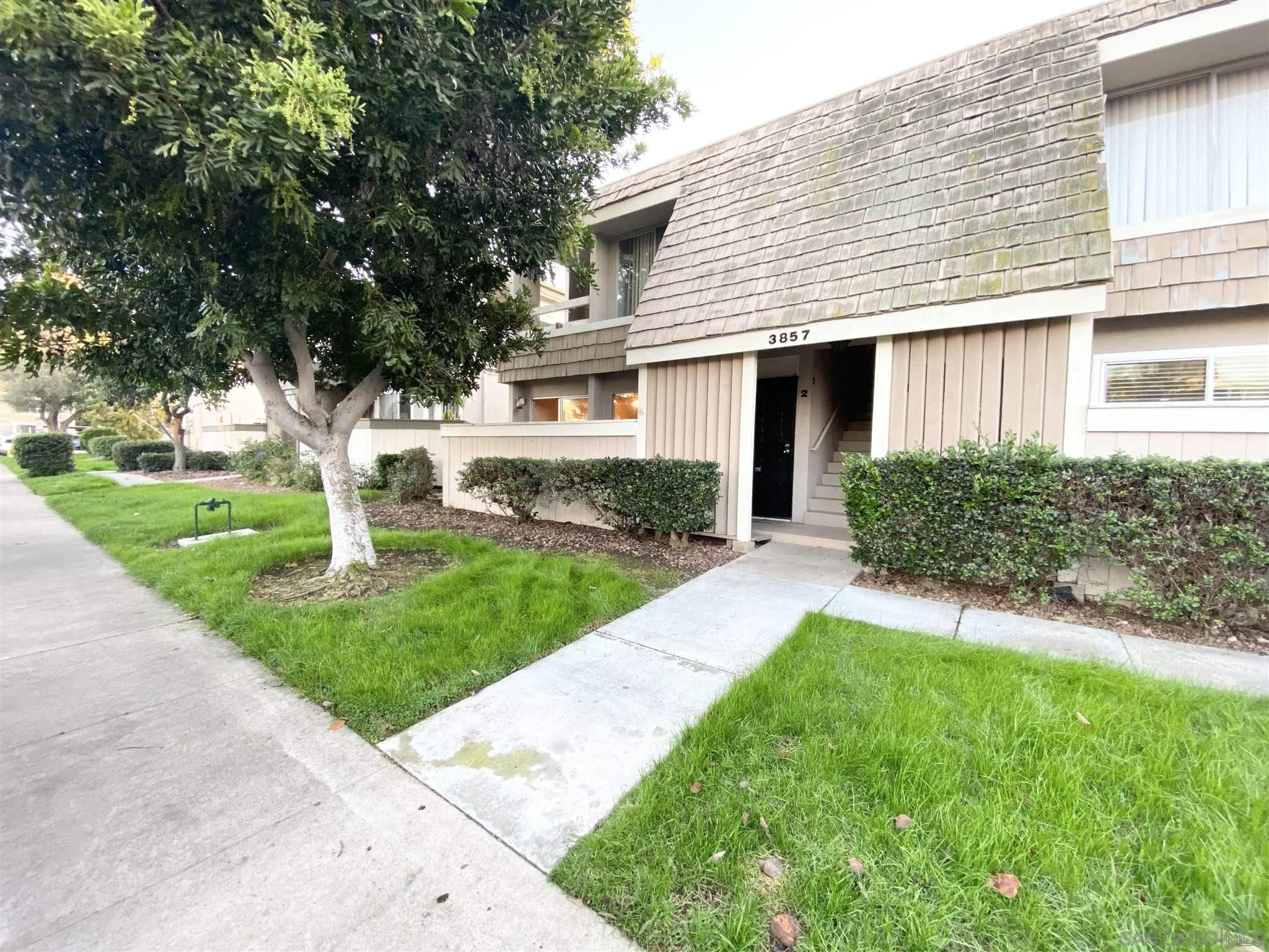 Main Photo: POINT LOMA Condo for sale : 3 bedrooms : 3857 Groton Street #2 in San Diego