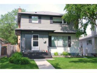 Photo 1: 745 NIAGARA Street in WINNIPEG: River Heights / Tuxedo / Linden Woods Residential for sale (South Winnipeg)  : MLS®# 1012243