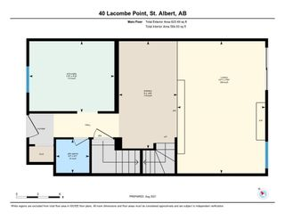 Photo 37: 40 LACOMBE Point: St. Albert Townhouse for sale : MLS®# E4265417
