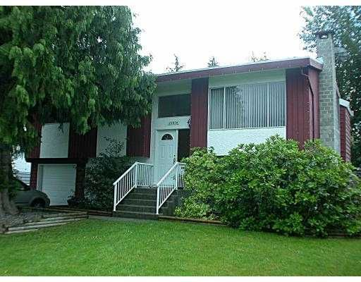 Main Photo: 22874 122ND AV in Maple Ridge: East Central House for sale : MLS®# V540830
