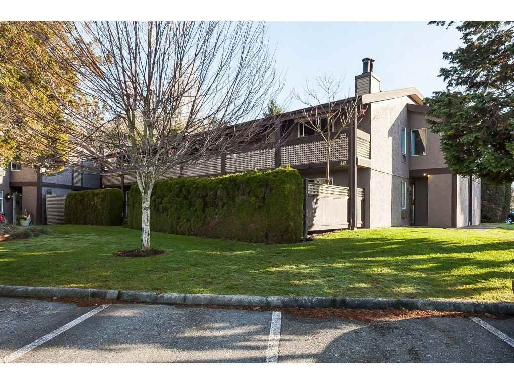 "Main Photo: 312 34909 OLD YALE Road in Abbotsford: Abbotsford East Townhouse for sale in ""The Gardens"" : MLS®# R2424031"