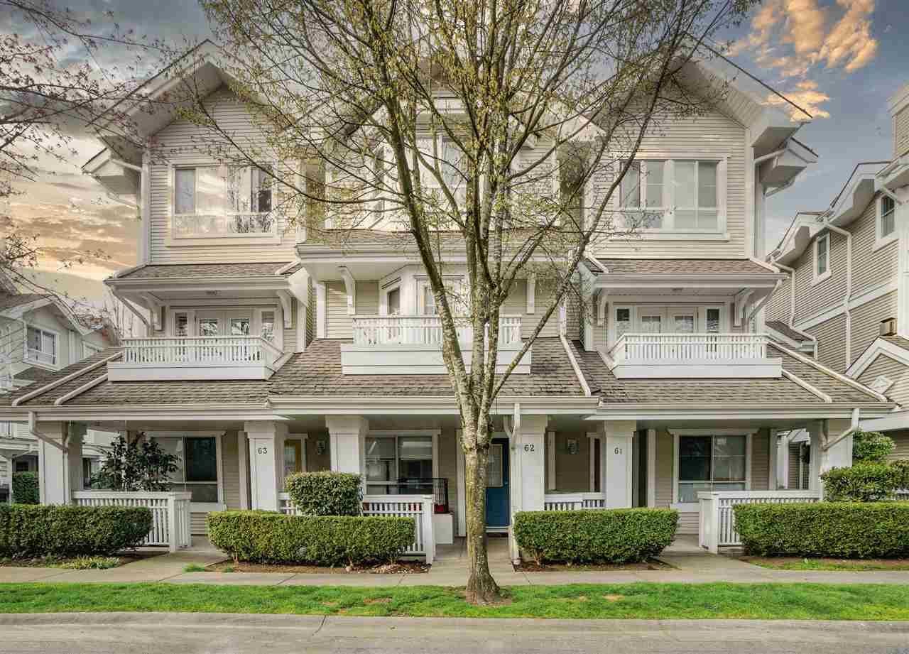 """Main Photo: 62 22000 SHARPE Avenue in Richmond: Hamilton RI Townhouse for sale in """"Richmond Mews"""" : MLS®# R2560074"""