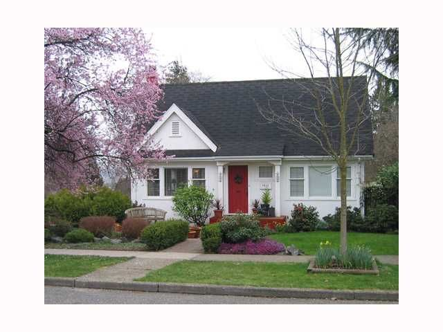"""Main Photo: 1612 HAMILTON Street in New Westminster: West End NW House for sale in """"WESTEND"""" : MLS®# V815474"""