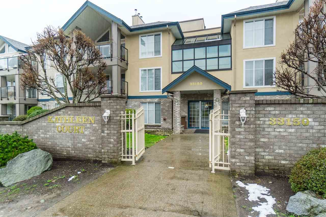 """Main Photo: 103 33150 4TH Avenue in Mission: Mission BC Condo for sale in """"Kathleen Court"""" : MLS®# R2433039"""