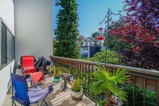 """Photo 1: 7 7353 MONTECITO Drive in Burnaby: Montecito Townhouse for sale in """"Villa Montecito"""" (Burnaby North)  : MLS®# R2605768"""