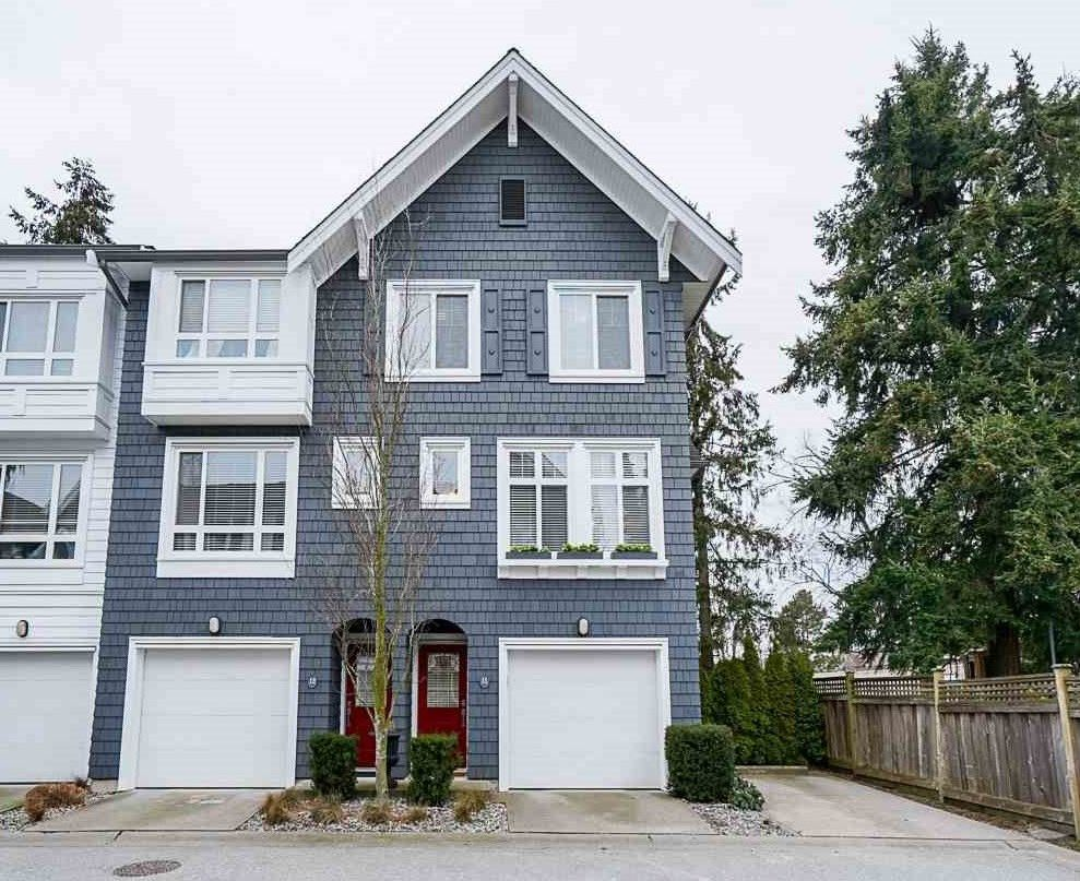 "Main Photo: 11 2487 156 Street in Surrey: King George Corridor Townhouse for sale in ""Sunnyside"" (South Surrey White Rock)  : MLS®# R2538129"