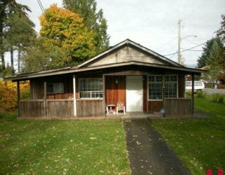 Photo 1: 13719 GROSVENOR Road in Surrey: Bolivar Heights House for sale (North Surrey)  : MLS®# F2923861