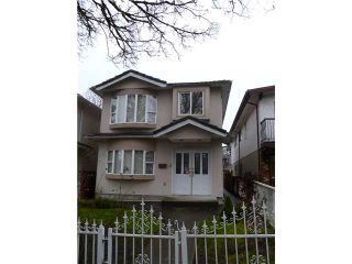 Photo 1: Vancouver East Real Estate Detached House Realtor