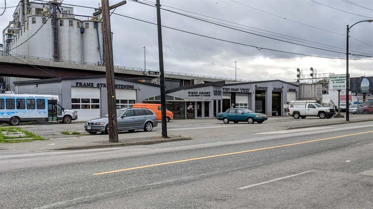 Main Photo: 1801 POWELL Street in Vancouver: Hastings Industrial for sale (Vancouver East)  : MLS®# C8035757