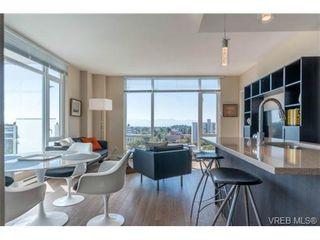 Photo 2: 802 1090 Johnson St in VICTORIA: Vi Downtown Condo for sale (Victoria)  : MLS®# 740685