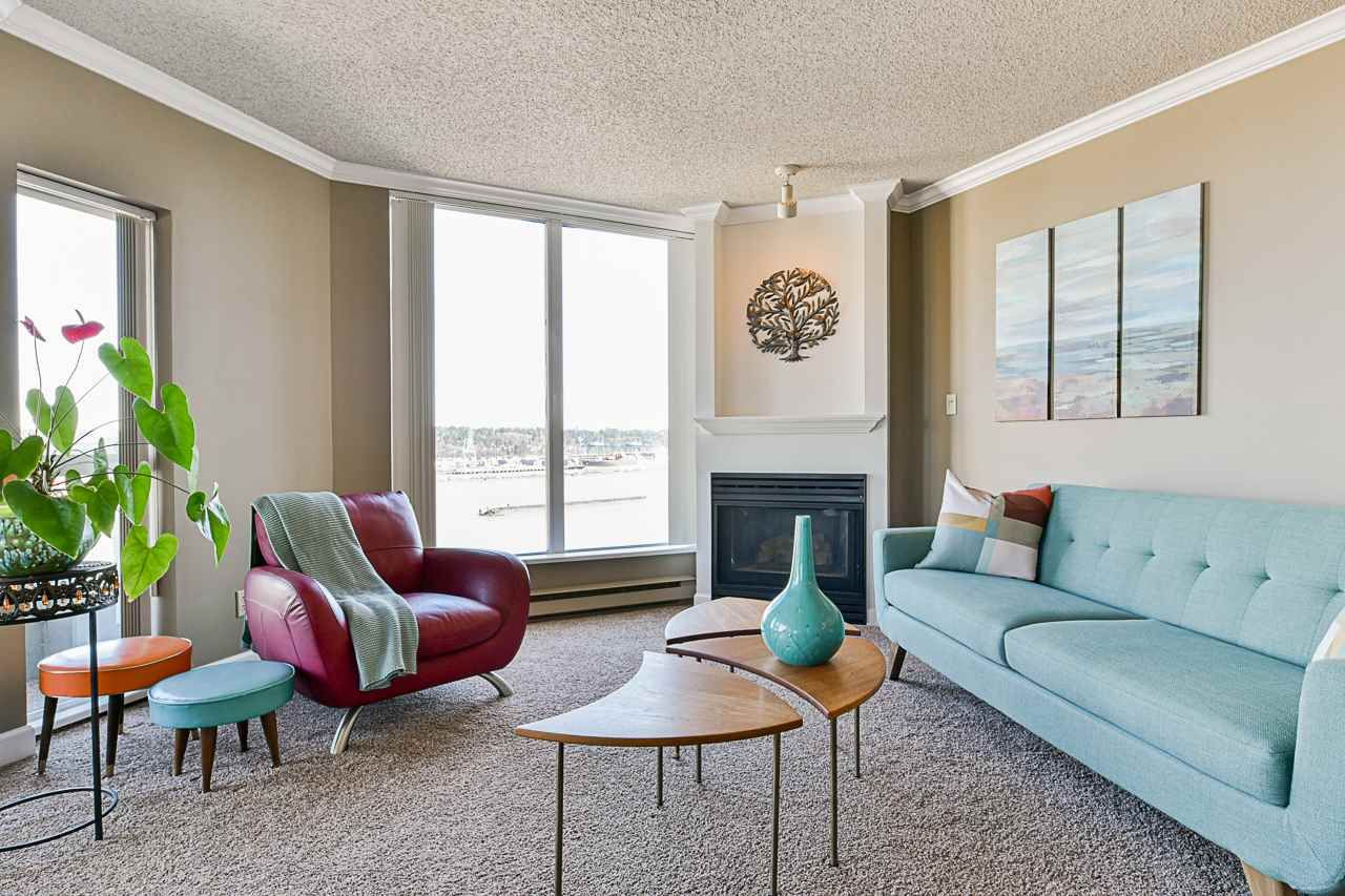 """Main Photo: 1506 1135 QUAYSIDE Drive in New Westminster: Quay Condo for sale in """"ANCHOR POINTE"""" : MLS®# R2565608"""