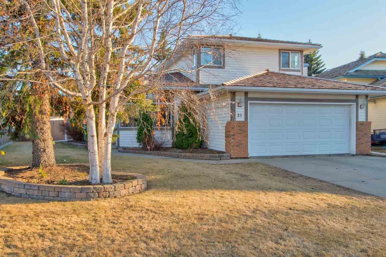 Main Photo: 21 ERIN RIDGE Drive: St. Albert House for sale : MLS®# E4238635
