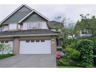 """Photo 1: 17 1765 PADDOCK Drive in Coquitlam: Westwood Plateau Townhouse for sale in """"WORTHING GREEN"""" : MLS®# V912013"""