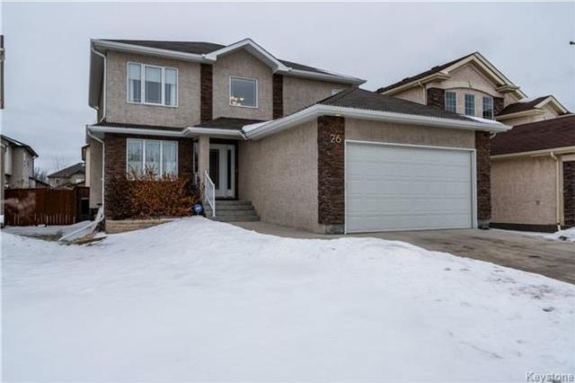 Main Photo: 26 Mardena Crescent in Winnipeg: Van Hull Estates Residential for sale (2C)  : MLS®# 1801480