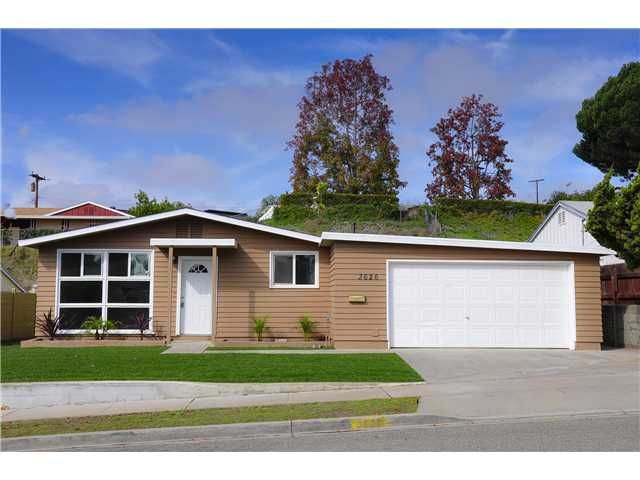 Main Photo: SAN DIEGO House for sale : 4 bedrooms : 3626 Fireway Drive
