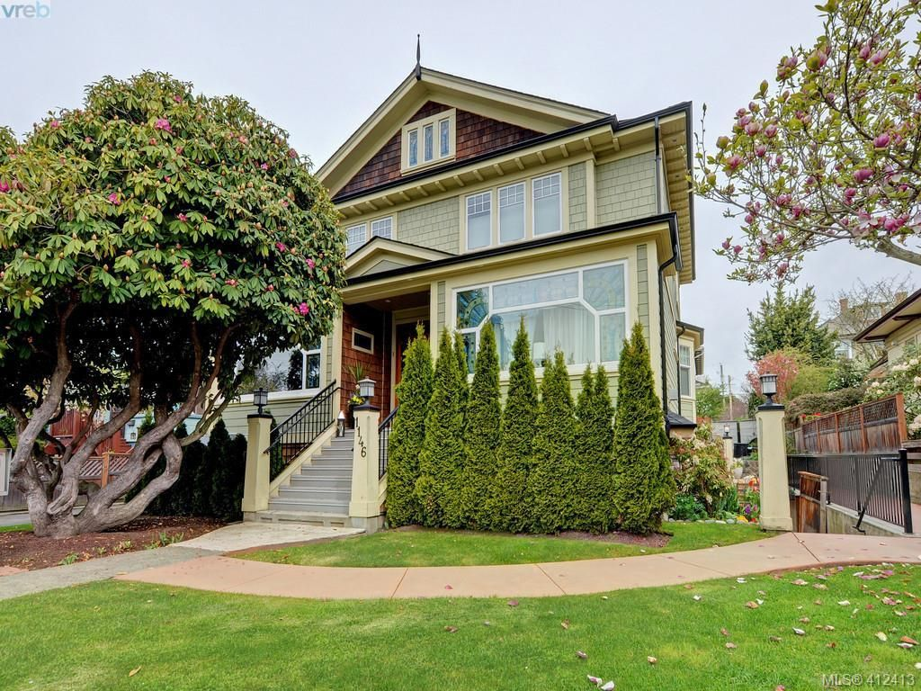 Main Photo: 2 1146 Richardson St in VICTORIA: Vi Fairfield West Condo for sale (Victoria)  : MLS®# 817792