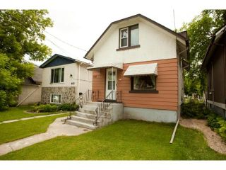 Photo 1: 398 Deschambault Street in WINNIPEG: St Boniface Residential for sale (South East Winnipeg)  : MLS®# 1212078
