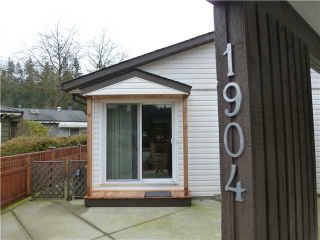 """Photo 1: 1904 KEITH Place in Coquitlam: River Springs House for sale in """"RIVER SPRINGS"""" : MLS®# V1037309"""