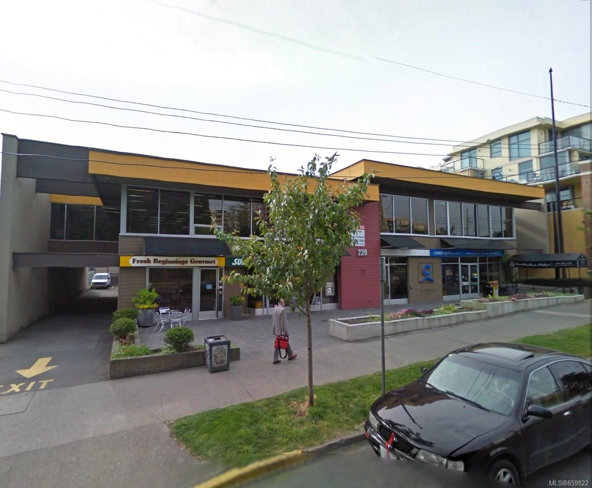 Main Photo: 211 239 Menzies St in : Vi Downtown Office for lease (Victoria)  : MLS®# 859822