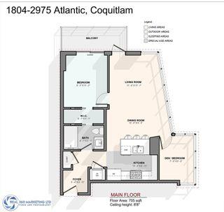 "Photo 23: 1804 2975 ATLANTIC Avenue in Coquitlam: North Coquitlam Condo for sale in ""GRAND CENTRAL 3"" : MLS®# R2490105"