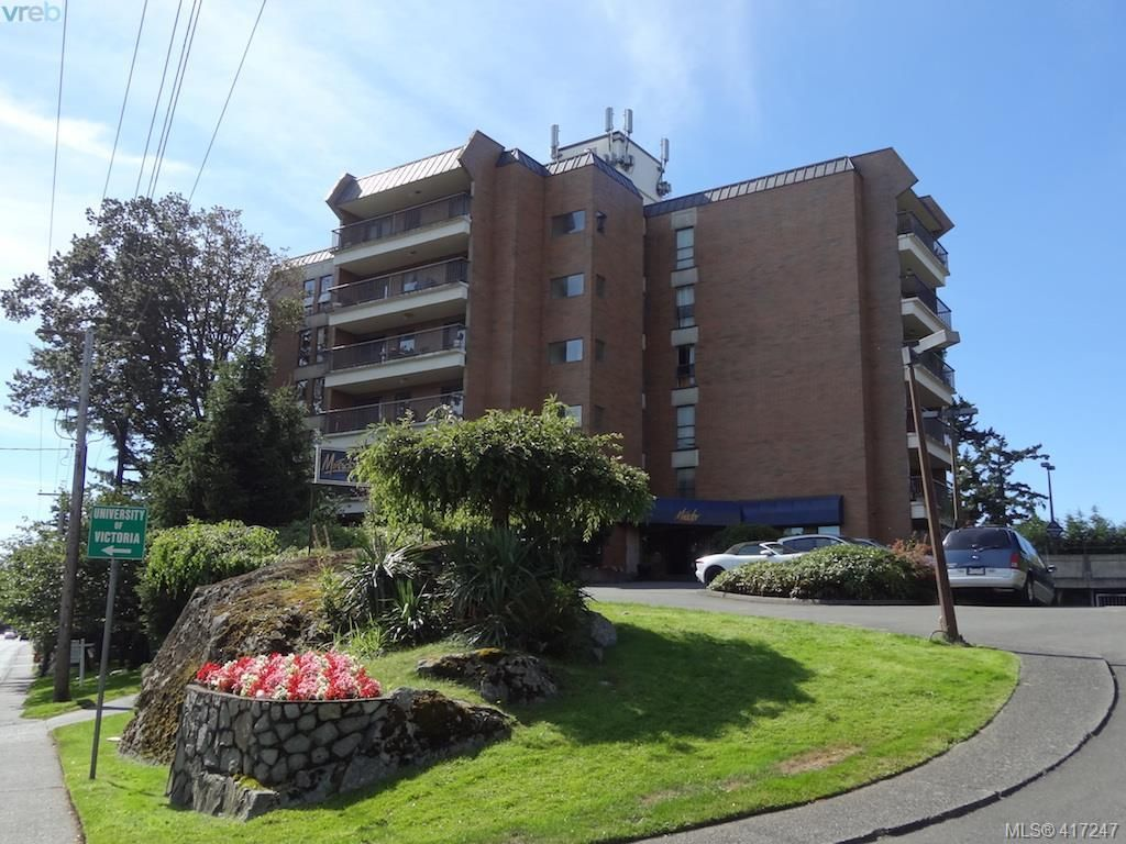 Main Photo: 603 4030 Quadra St in VICTORIA: SE High Quadra Condo for sale (Saanich East)  : MLS®# 827752