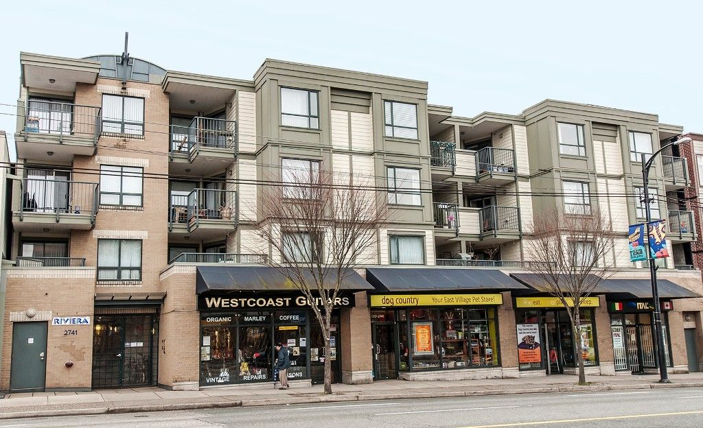 Main Photo: 307 2741 E Hastings Street in Vancouver: Hastings East Condo for sale (Vancouver East)  : MLS®# V1049594