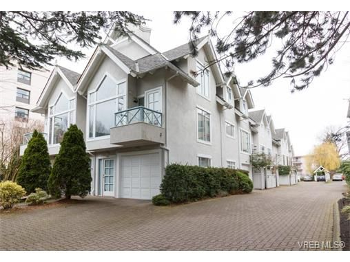 Main Photo: 8 356 Simcoe St in VICTORIA: Vi James Bay Row/Townhouse for sale (Victoria)  : MLS®# 753286