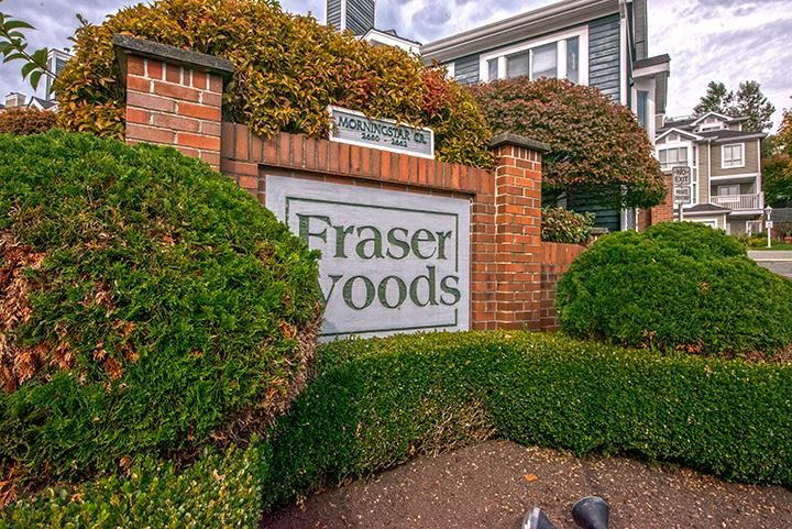 """Main Photo: 15 2656 MORNINGSTAR Crescent in Vancouver: Fraserview VE Townhouse for sale in """"FRASER WOODS"""" (Vancouver East)  : MLS®# R2007119"""