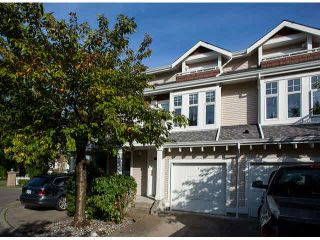 "Photo 1: 2 9036 208TH Street in Langley: Walnut Grove Townhouse for sale in ""Hunter's Glen"" : MLS®# F1424781"