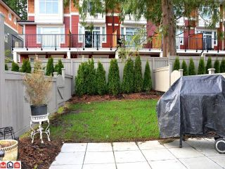 """Photo 10: 20 2955 156TH Street in Surrey: Grandview Surrey Townhouse for sale in """"Arista"""" (South Surrey White Rock)  : MLS®# F1206068"""
